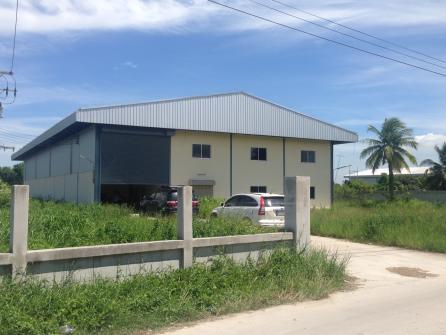 ขายโกดังนิคมอุตสาหรรมสัมพันธ์วรรณี พื้นที่สีม่วง พื้นที่ 2 ไร่ 1 งาน พท.ใช้สอย 900 ตร. ม. อ.บ้านบึง จ.ชลบุรี